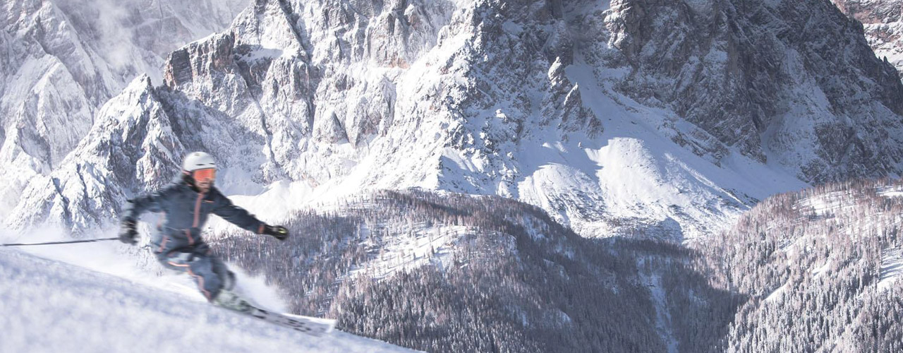 Skifahren an der Rotwand
