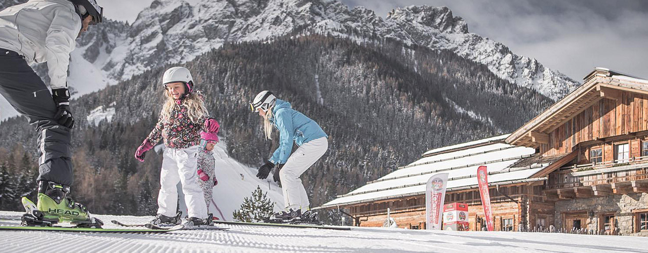 Skifahren am Haunold