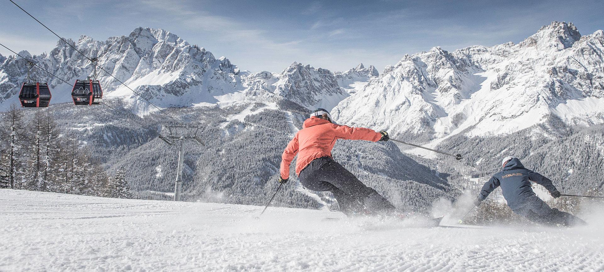 Skifahren am Stiergarten