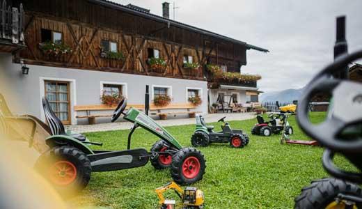 Spielplatz am Bauernhof